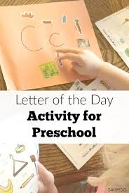 letter of the day activities for preschool the stay at home mom