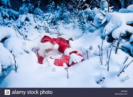 deliver presents santa struggling to deliver presents he seems stuck in snow