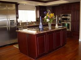 kitchen color schemes with cherry cabinets kitchen catchy cherry kitchen cabinets ideas u wooden wood white