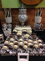 Black And White Candy Buffet Ideas by 69 Best Candy Buffet Images On Pinterest Candy Buffet Birthday