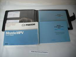 mazda mpv handbooks and wallet
