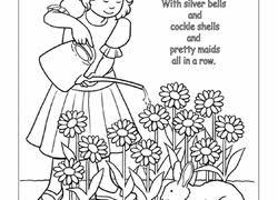 nursery rhymes worksheets u0026 free printables education com