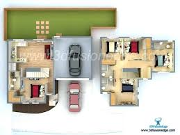 3 Bedroom House Designs In India Duplex House Design Plans Floor Plans House Design Small Duplex