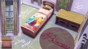 Disney Bed Sets Mod The Sims Disney Princess Bedroom Set