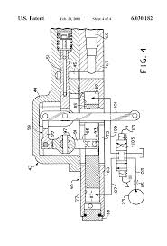 patent us6030182 variable displacement pump and optional manual