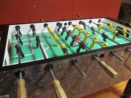 tornado sport foosball table used home table decoration