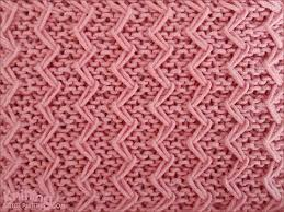 zig zag knitting stitch pattern zig zag loop knitting stitch patterns