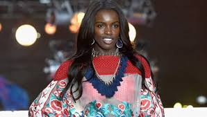 black hair show 2015 anderson is the black beauty at the victoria s secret fashion show
