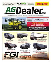wheel u0026amp deal alberta july 21 2014 by farm business