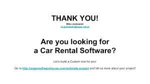 Car Rental Estimate by Car Rental Software 4 Crucial Features