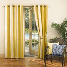 Striped Yellow Curtains Yellow Curtains U0026 Drapes Window Treatments The Home Depot