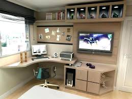 tv stand desk combo desk stand rooms with regard to popular house