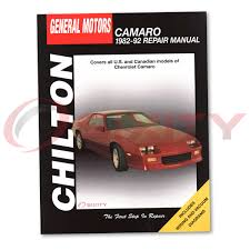 chevy camaro chilton repair manual z28 iroc z berlinetta