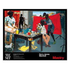 kerry james marshall untitled studio poster the met store