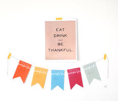 Thanksgiving Flags Alice And Loisfree Modern Thanksgiving Printables
