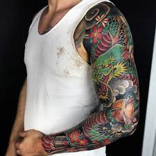 wonderful dragon tattoo mens full sleeves tattoo pinterest