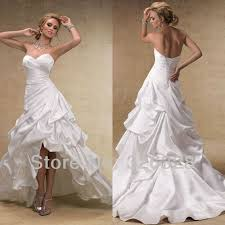 wedding dresses high front low back low back corset for wedding dress 2150