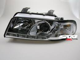 audi a4 headlights sw drl headlights audi a4 b5 99 01 daytime runing light r87 ch