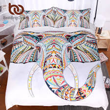 bedding outlet stores beddingoutlet 3 pieces 3d elephant bedding set bohemia king duvet