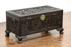 Coffee Table Chest Chinese Camphor Wood Trunk Dowry Chest Or Coffee Table Carved