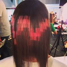 flesh color hair trend 2015 pixelated hair is the newest cutting edge trend bored panda