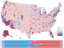 2016 Electoral Map Pre by Canada Us Post Us Election Map