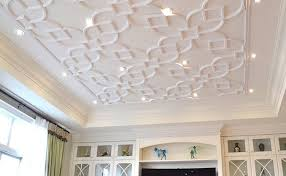Popcorn Ceilings Asbestos by Say Goodbye To Your Popcorn Ceiling With Glue Up Ceiling Tiles