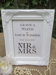 wedding wishes tree wish tree sign mr mrs bow tie pearls vintage frame