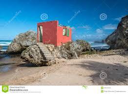derelict beach house bathsheba barbados stock photo image 44641234
