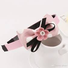 cloth headbands 2018 2017 new style headband bowknot flower cloth headbands