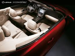 lexus convertible 2010 lexus is convertible interior