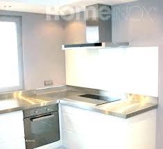 plaque alu cuisine plaque inox autocollante luxe plaque aluminium cuisine ikea