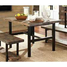 dark brown wooden dining table black brown wood dining table alex