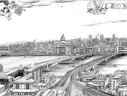 what a difference 400 years makes the london skyline 1616 v 2016