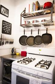 best 25 small kitchen space savers ideas on pinterest space lauren s eclectic san francisco apartment