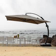 Sun Umbrella Patio 3 5 3 5 Meter Aluminum Deluxe Outdoor Patio Sun Umbrella Garden