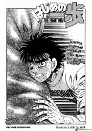 hajime no ippo hajime no ippo 921 read hajime no ippo 921 online page 1