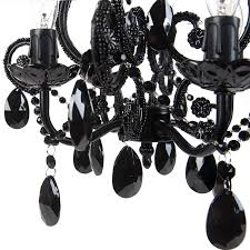 Tadpole Chandeliers by Amazon Com Tadpoles Four Bulb Chandelier Black Baby
