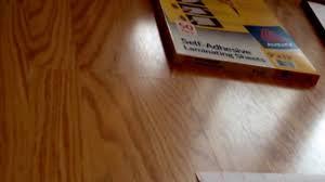Self Adhesive Laminate Flooring Avery Self Adhesive Laminating Sheets 9 X 12 I Review Youtube