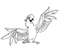 parrot coloring pages kids parrot coloring pages bird