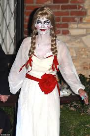Jane Killer Halloween Costume Courteney Unrecognisable Dressed Killer Doll Annabelle