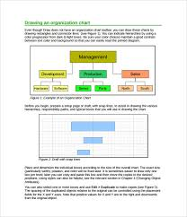 sample horizontal organization chart 5 documents in pdfhow to