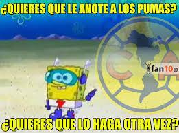 Memes De Pumas Vs America - r罸ete con los mejores memes del am罠rica vs pumas r繪cord