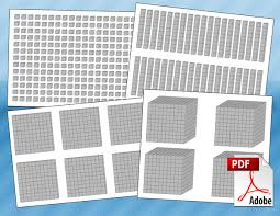 printable place value blocks free math pdfs for students teachers