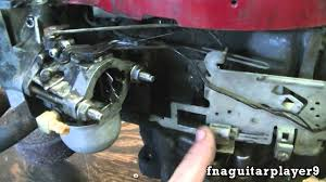 how throttle and choke linkage is setup on a briggs 2 piece