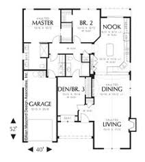 European Cottage Plans Image For Northwood European Cottage Plan With Living Areas Up