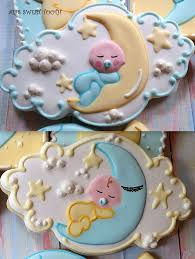 The Decorated Cookie Company Best 25 Moon Cookies Ideas On Pinterest Star Next To Moon Baby