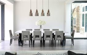 grey dining table set transitional dining chairs dining room contemporary with white walls