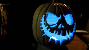 plastic light up halloween pumpkins diy foam pumpkin lighting test youtube