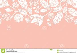 wedding flowers images free wedding flowers and leaves horizontal seamless stock vector